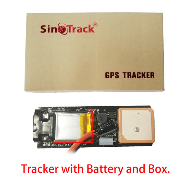 4G GSM GPS Tracker Mini Size Waterproof for Car Motorcycle Truck Tracking  with Online Tracking System Software