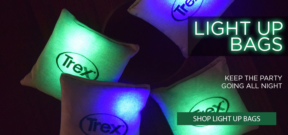 TREX ALL WEATHER LIGHT UP BAGS