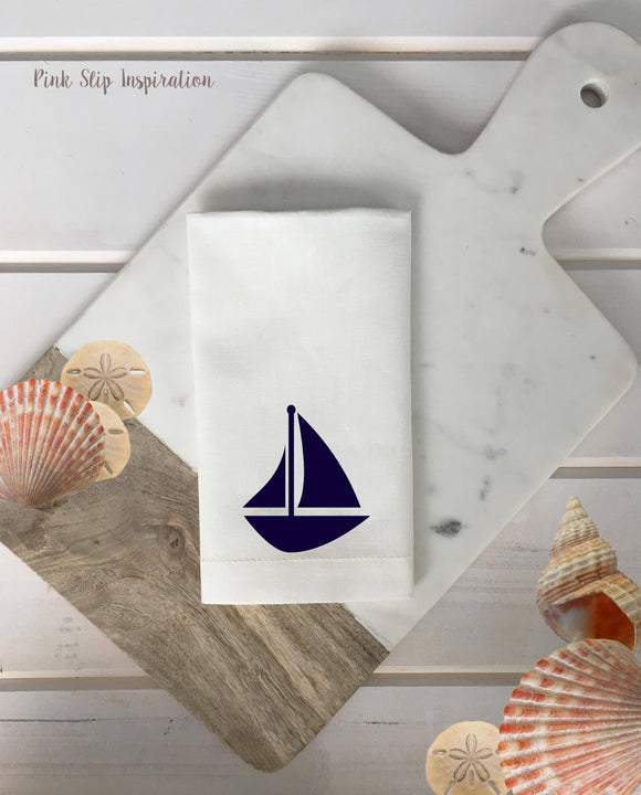 Sailboat Napkins