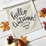 Hello Autumn Fall Banner