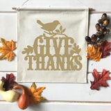 Give Thanks Fall Banner