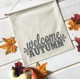 Welcome Autumn Fall Banner