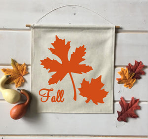 Fall Leaves Fall Banner