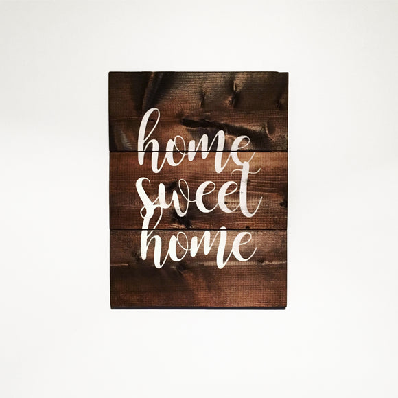 Home Sweet Home Wood Sign | First Home Sign | Home Wood Sign | Home Interiors