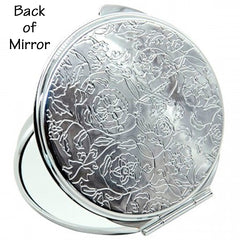 Personalized Round Mirror Compact Teaching is a Work of Heart Teacher Gift New Qualified Gift