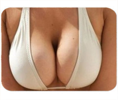Personalized Mouse Pad Cleavage Big Boobs Gag Funny Gift Idea