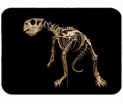 Personalized Mouse Pad Dad Dinosaur Skeleton Student Kids Gift Idea