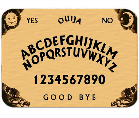 Copy of Personalized Mouse Pad Ouija Board Mousepad Design Fun Novelty Gift