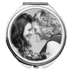 Image of Personalized Round Mirror Compact  I Love You Mom Photo Picture Gift Mother of the Bride Mother in Law - beautiful Gift