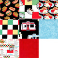 Diner PreCut 8 Piece Fat Quarters