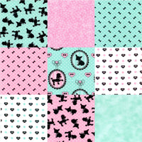 Fifi & Romeo PreCut 9 Piece Fat Quarters