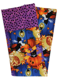 Handmade Pillowcase Halloween Cats Pumpkins