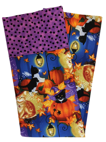 Halloween Cats Pumpkins Pillowcase