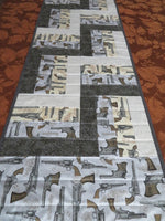 Remington Classic Revolver Handmade Table Runner