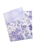 Handmade Travel Pillowcase  Fairy Lilac