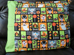 Scary Halloween Handmade Reversible Pillowcase