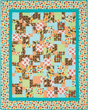 Woodland Pals Dressed to the Nines Kaufman Quilt Kit