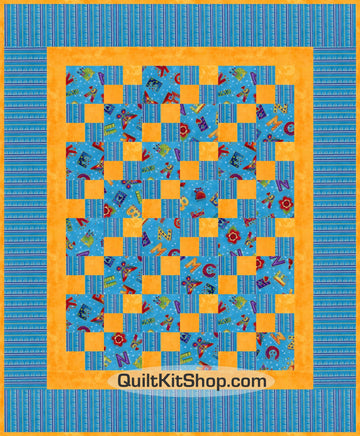 Laurel Land Aqua PreCut Quilt Kit