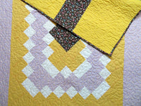 ABC Medallion Baby Patchwork Quilt