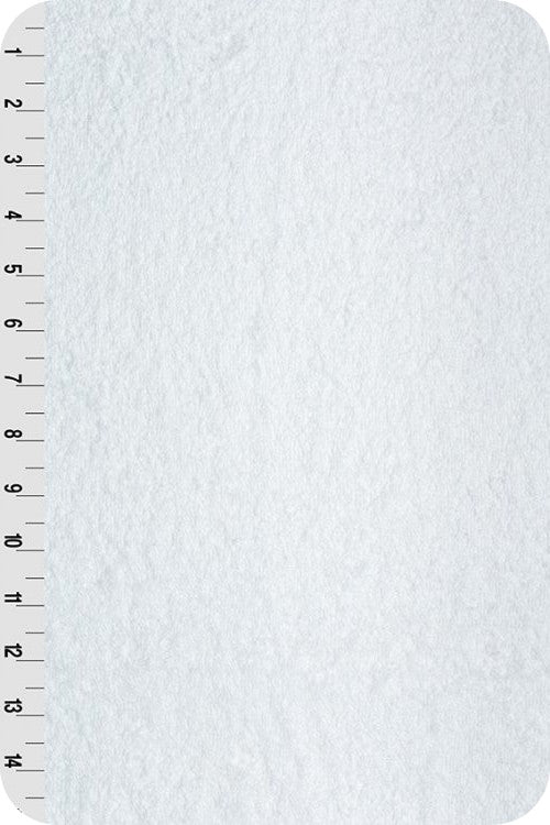 """White Terry Cloth Fabric 58"""" Wide"""