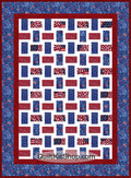 Americana Stars & Stripes PreCut Quilt Kit