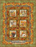 Our Autumn Friends Olive Quilt Kit