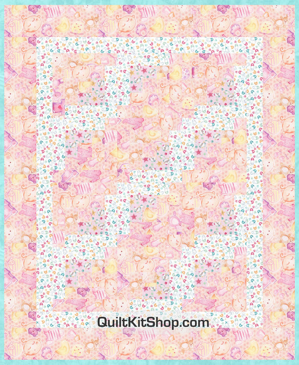 Baby Bundle PreCut Quilt Kit