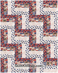 Be Strong Be Brave PreCut 20 Block Quilt Kit