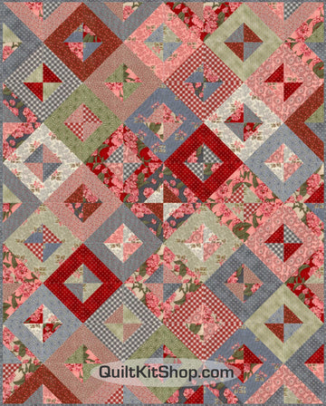 Orchard Blossom Quilt Kit