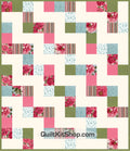 Blossoms Pink PreCut Quilt Kit
