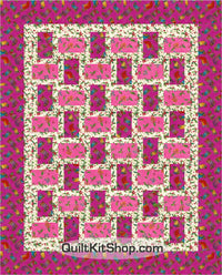Bountiful Blessings Stockings PreCut Quilt Kit