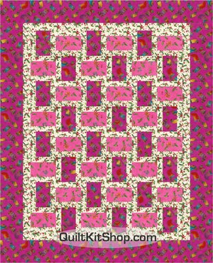 Bountiful Blessings Stockings Pre-Cut Quilt Kit