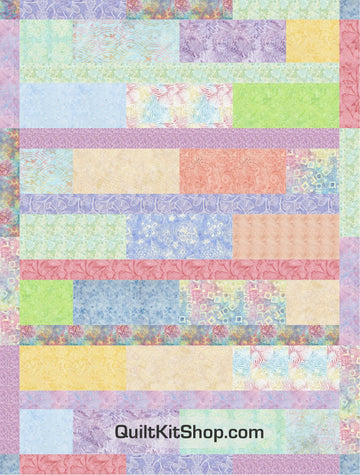 Bouquet Batik Quilt Kit