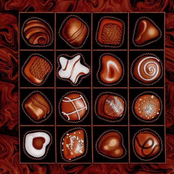 Boxed Chocolate and Truffles Panel