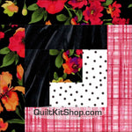 Breezy Pink PreCut 12 Block Quilt Kit