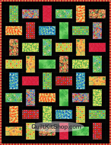 Alpine Bright Ideas PreCut Quilt Kit