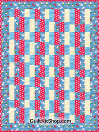 Intrigue Bunny Pop PreCut Quilt Kit