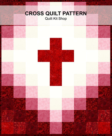 Cross Quilt Pattern PDF