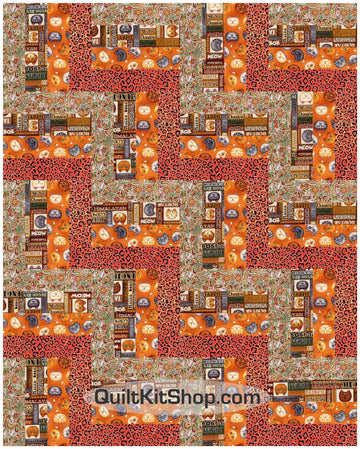Cat Trap PreCut 20 Block Quilt Kit
