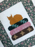 Cat Upon Quilts Quilted Table Topper Handmade