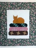 Handmade Quilted Table Topper Cat Upon Quilts