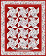 Celebrate Winter 34 x 42 PreCut Quilt Kit