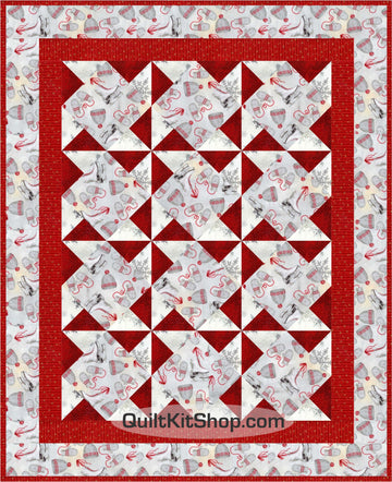 Celebrate Winter PreCut Quilt Kit