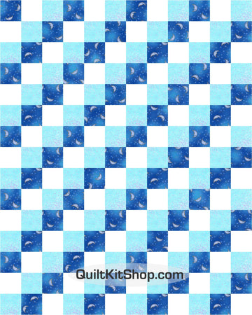 Celestial Dreams Pre-Cut 12 Block Quilt Kit