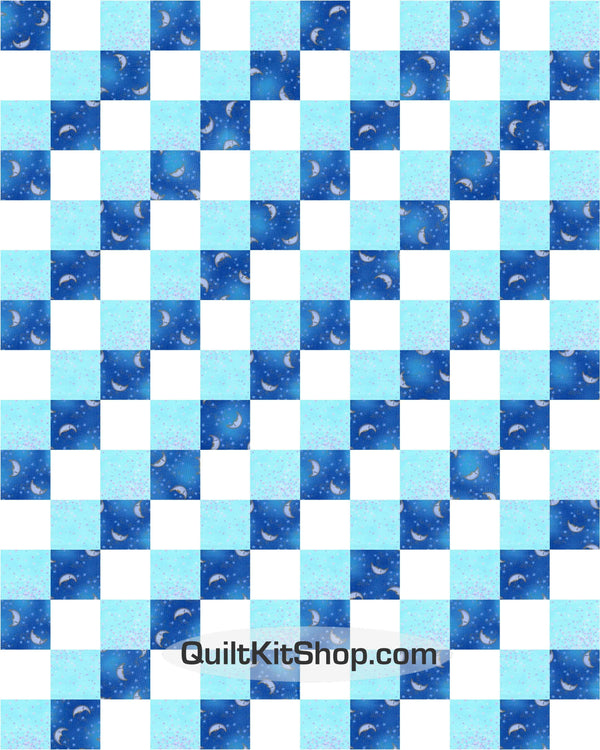 Celestial Dreams PreCut 20 Block Quilt Kit