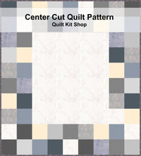 Center Cut Quilt Pattern PDF