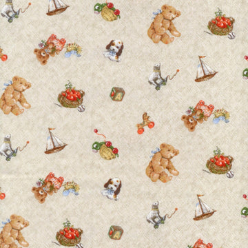 Childhood Fantasies Natural Spectrix Fabric