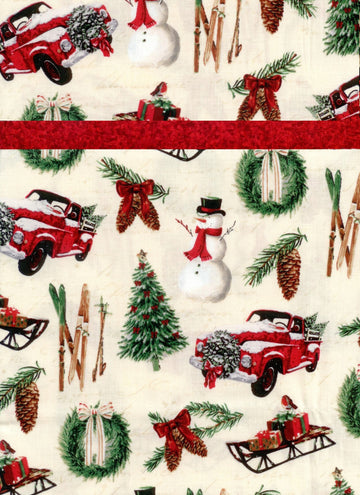Pillowcase Kit Christmas Toss