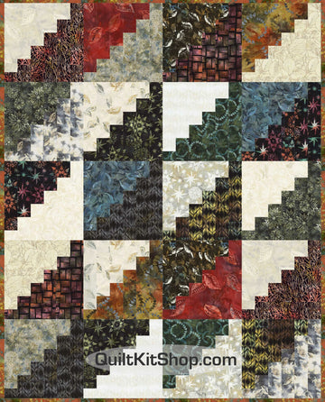 City Lights Batik Pre-Cut Quilt Kit
