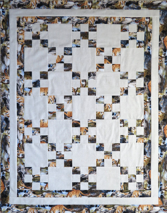 Cougar Creek Quilt Top